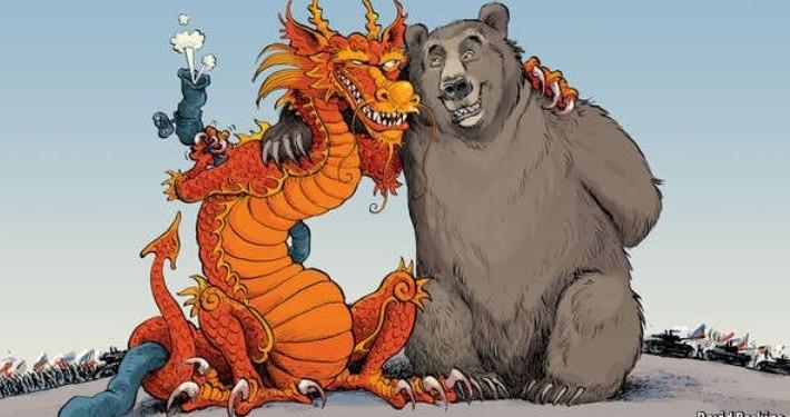 russia e china