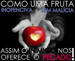 pecado como fruta