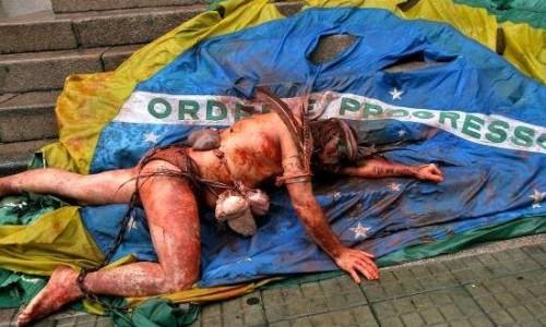 brasil sofrendo