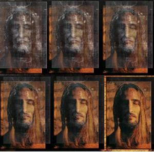 rosto jesus santo sudario