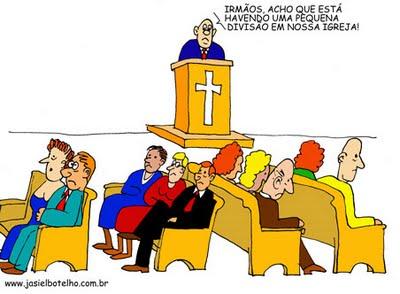 divisão igreja