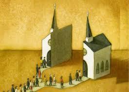 igreja dividida